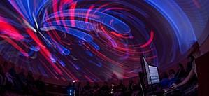The Round Room at the UM Planetarium (UM Photo)
