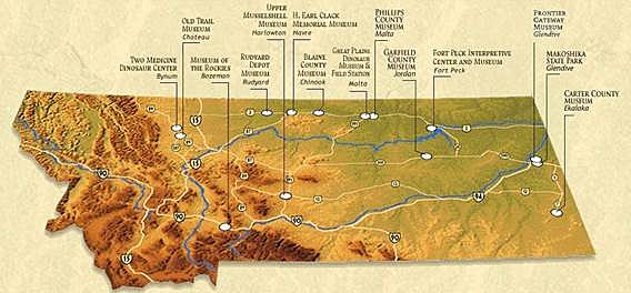 Dino Map