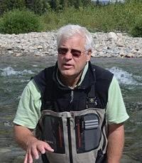 UM Professor Ric Hauer in the field. (UM Photo)