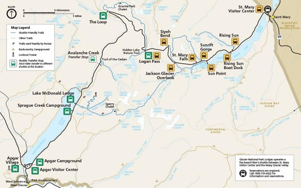 Glacier National Park Offering Limited Shuttle and Tour Access From ...